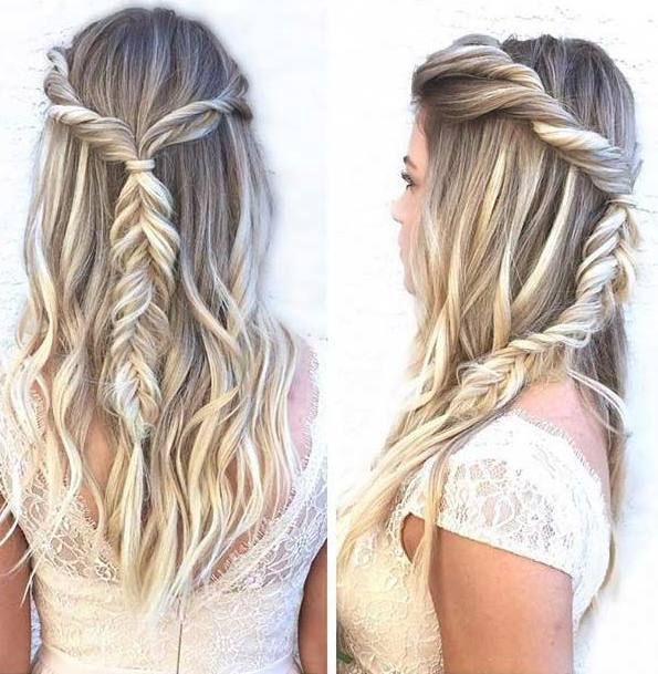 31 Amazing Half Up Half Down Hairstyles For Long Hair: 31 Gorgeous Half Up, Half Down Hairstyles
