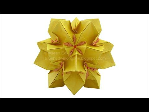 Youtube origami e papel pinterest origami tutorials and in this tutorial we will be making my dual coloured origami kusudama we will need 30 dual coloured sheets of x paper or larger mightylinksfo