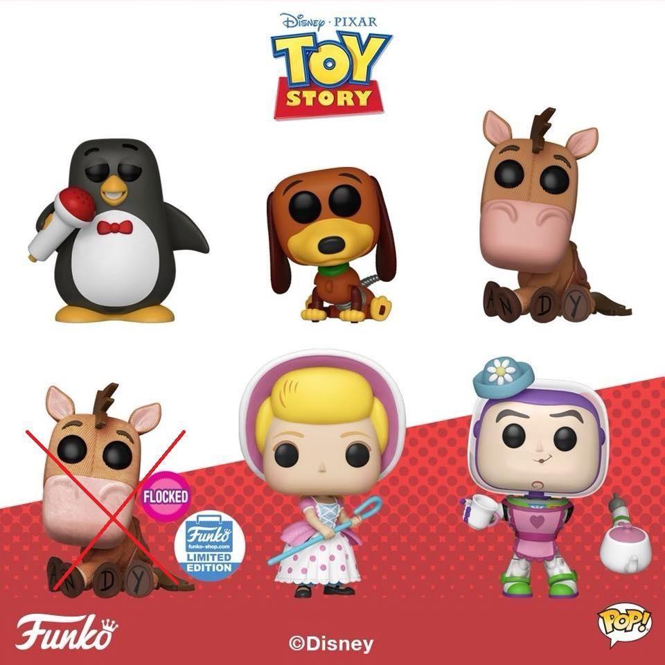 b5a4bd29 Funko Pop Disney Toy Story : Complete Set of 5 Vinyl Figures | Funko ...