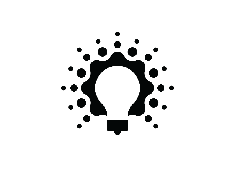 Light Bulb With Flare Logo Design Creative Lamp Logo Branding Design Logo