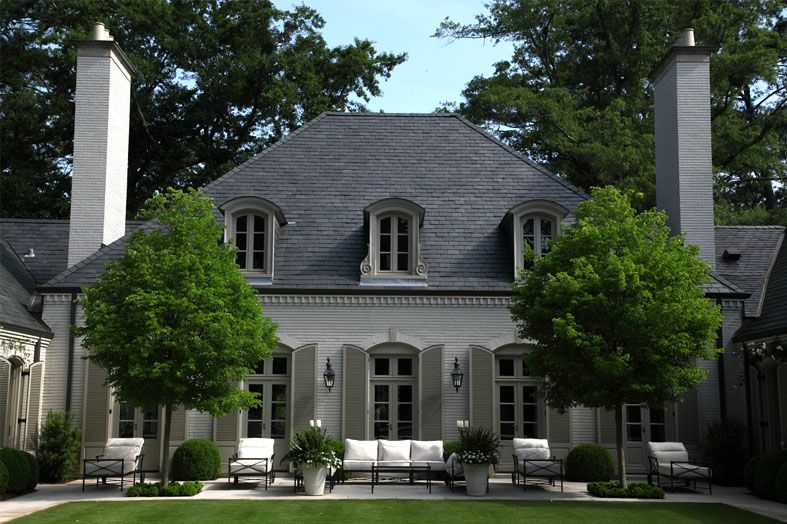 Pin by nicola warner on dream home pinterest house - Country style exterior house colors ...
