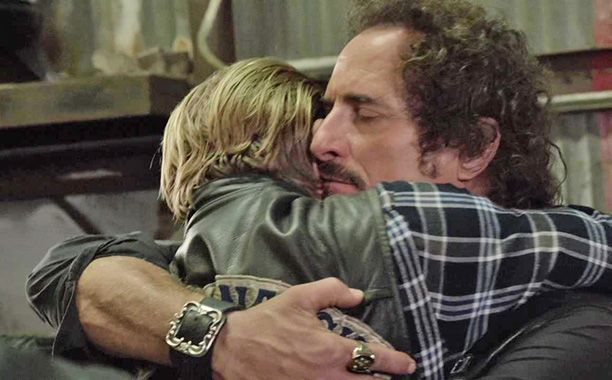 Tig's embrace was so soft. There's no space between them.
