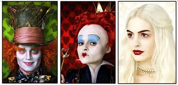 alice in wonderland characters - Google Search