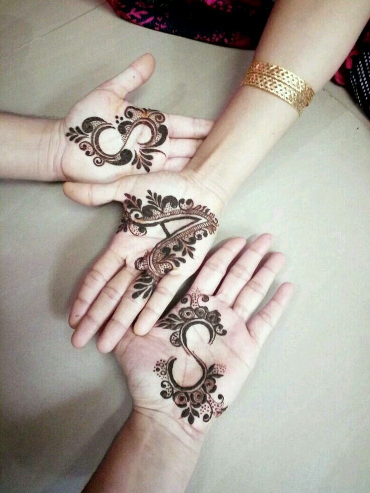 a name mehndi design