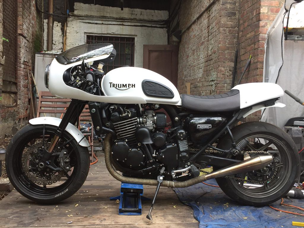 Triumph Thunderbird Sport Great Job By Simplyj Bonnie Likes To