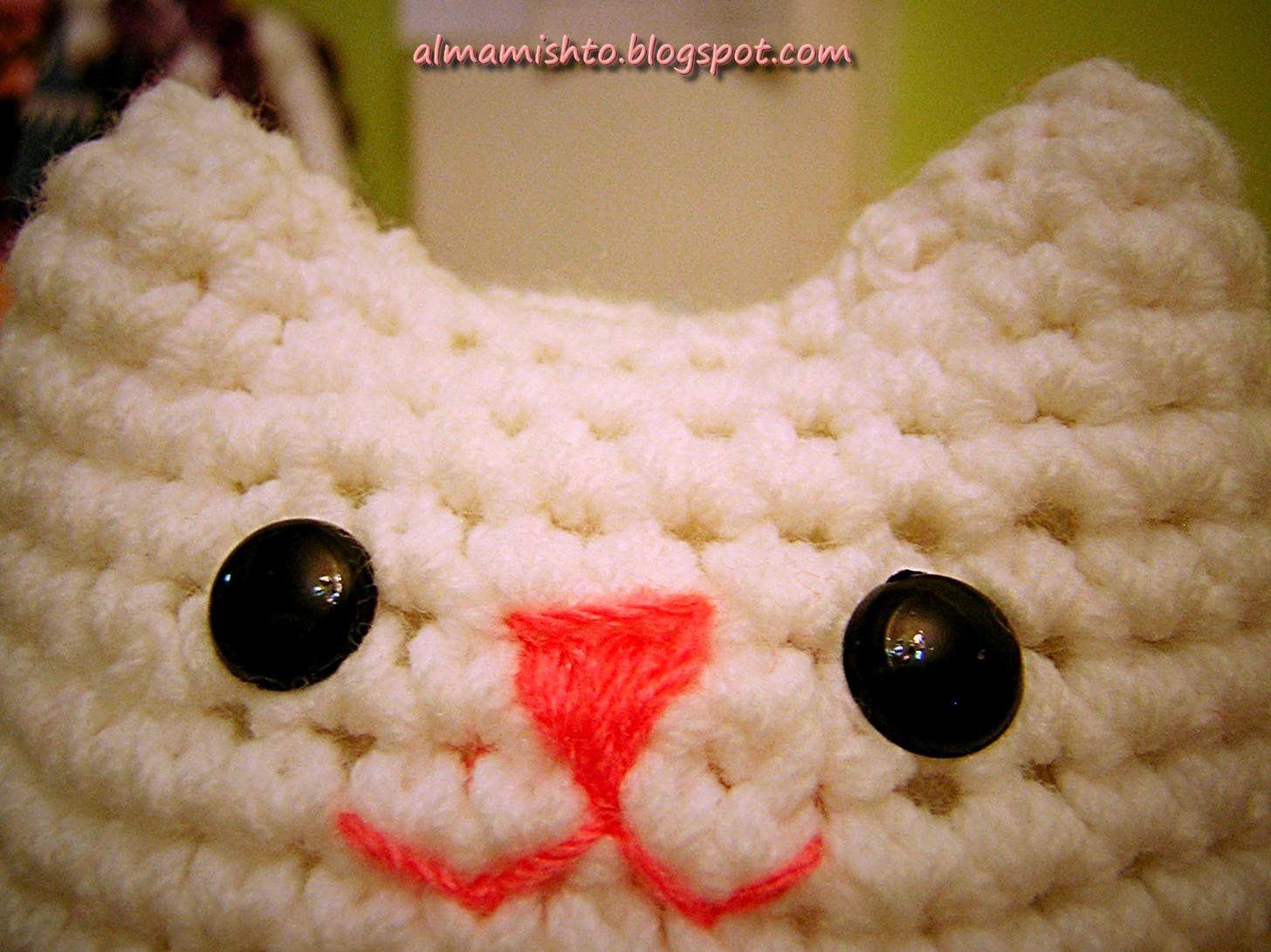 Amigurumi Que Es : El gato mishto es tan fácil que es imposible no ponerse a tejerlo