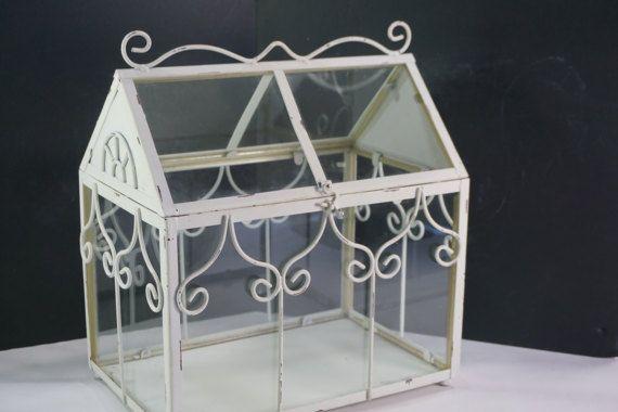 Indoor Greenhouse Tabletop Glass Greenhouse Planter Terrarium
