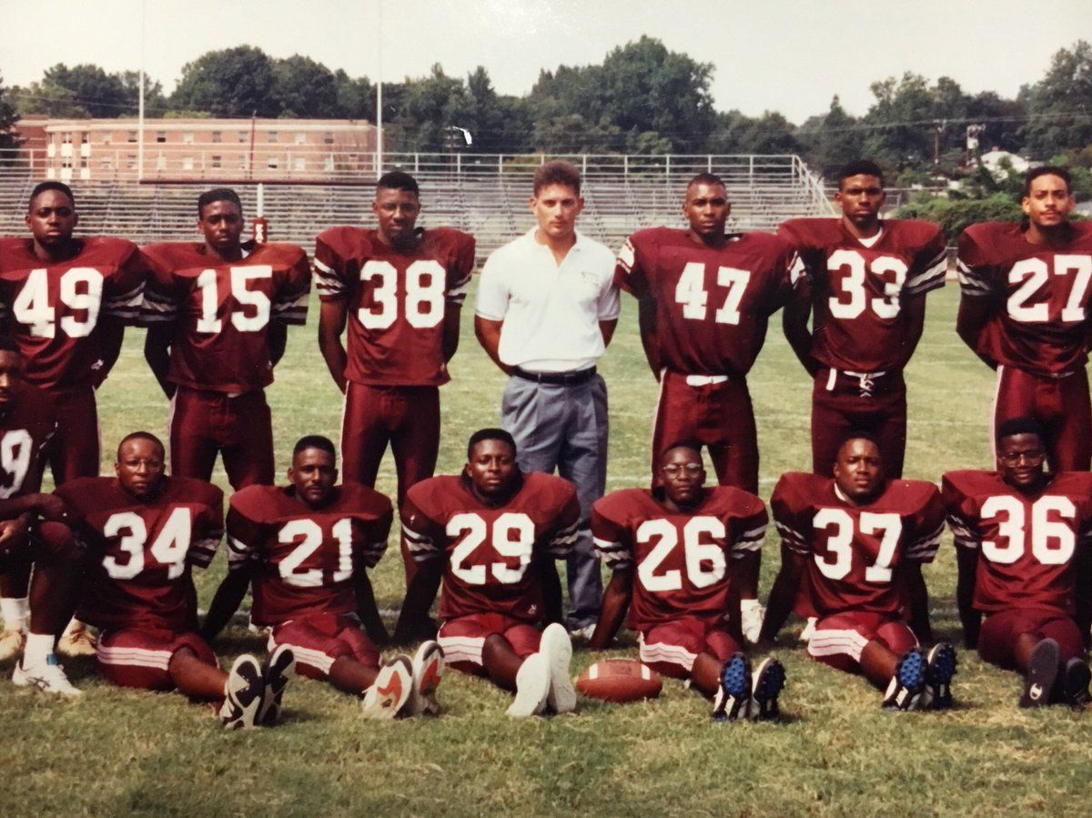 Philadelphia Eagles current Defensive Coordinator back when he was a Defensive Back Coach for North Carolina Central University in 1991. It was his first full time coaching job.