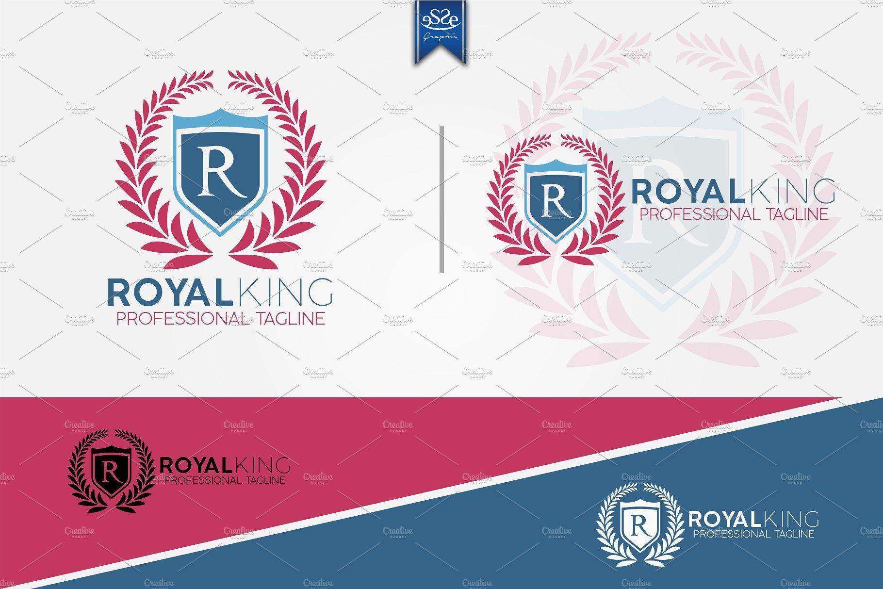 Royal King Vintage Letter R Logo With Images Vintage Lettering