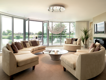 radial balance in interior design google search