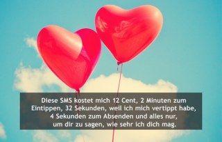 Liebeserklärung per SMS | Süße texte für den freund