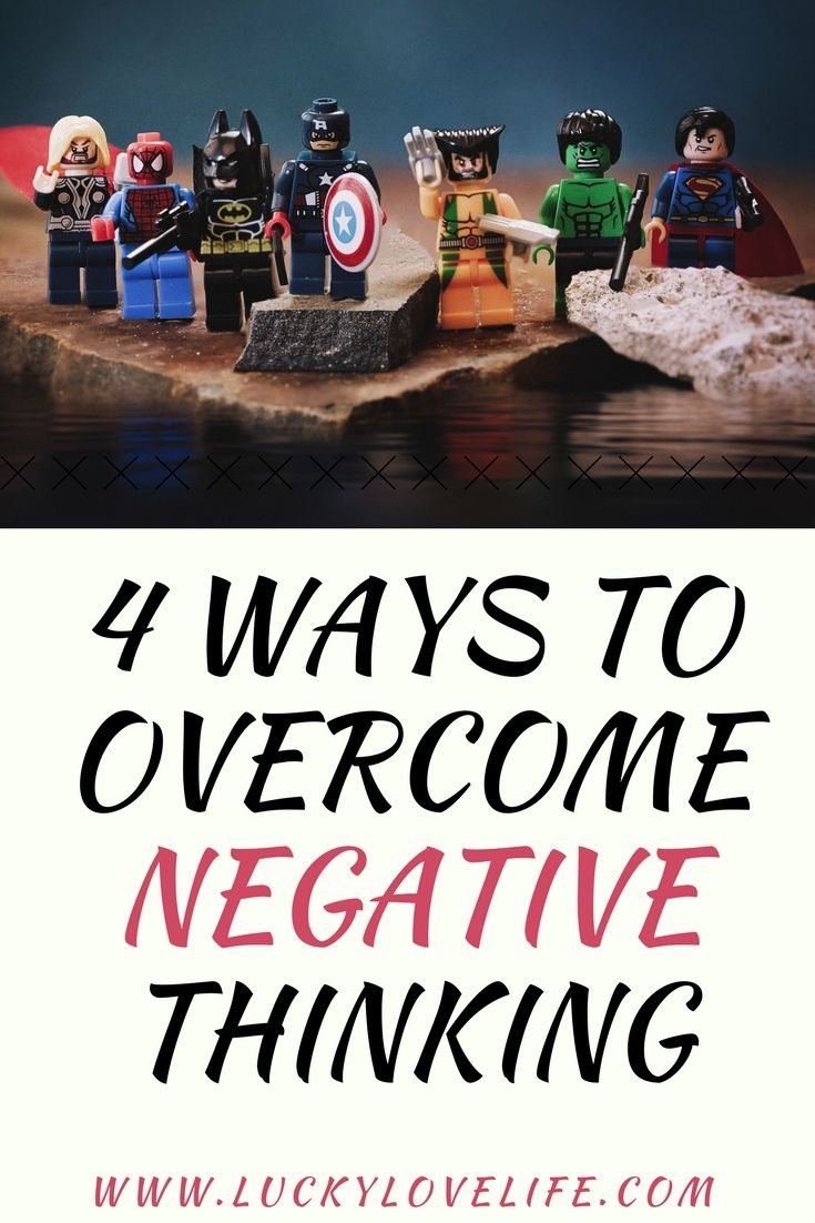 Negative Thinking Patterns Amazing Design Inspiration