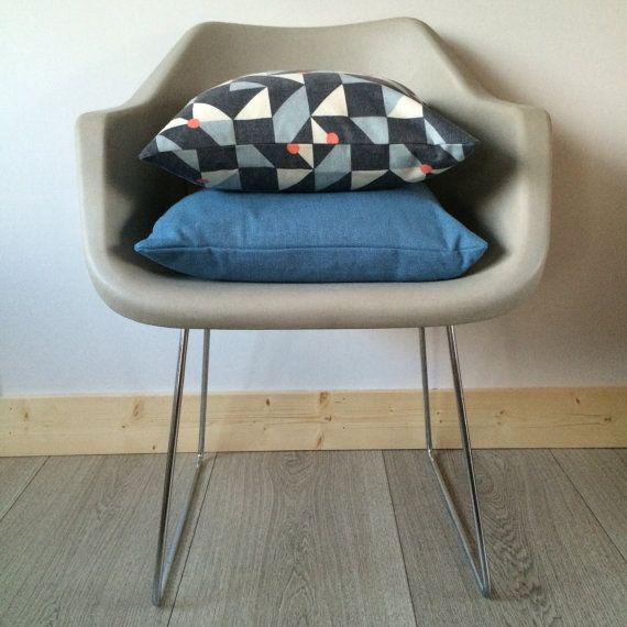 Square Geometric Scatter Cushion 100% Brushed by FlorrieandBill