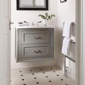 Imperial Radcliffe Thurlestone Wall Hung Vanity Unit Basin