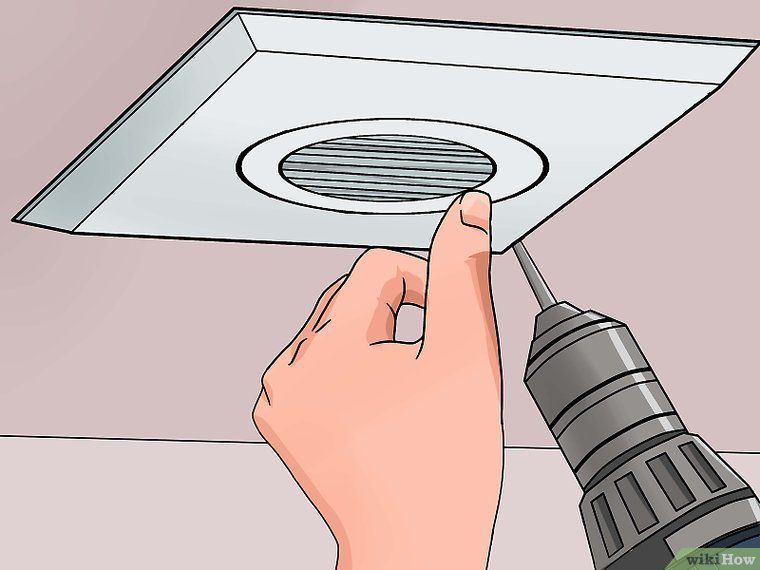 Install A Bathroom Fan Household Fixing Decorating And Design