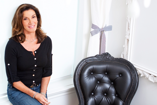 Hilary Farr...who I would hire to design my home if I had the $$$