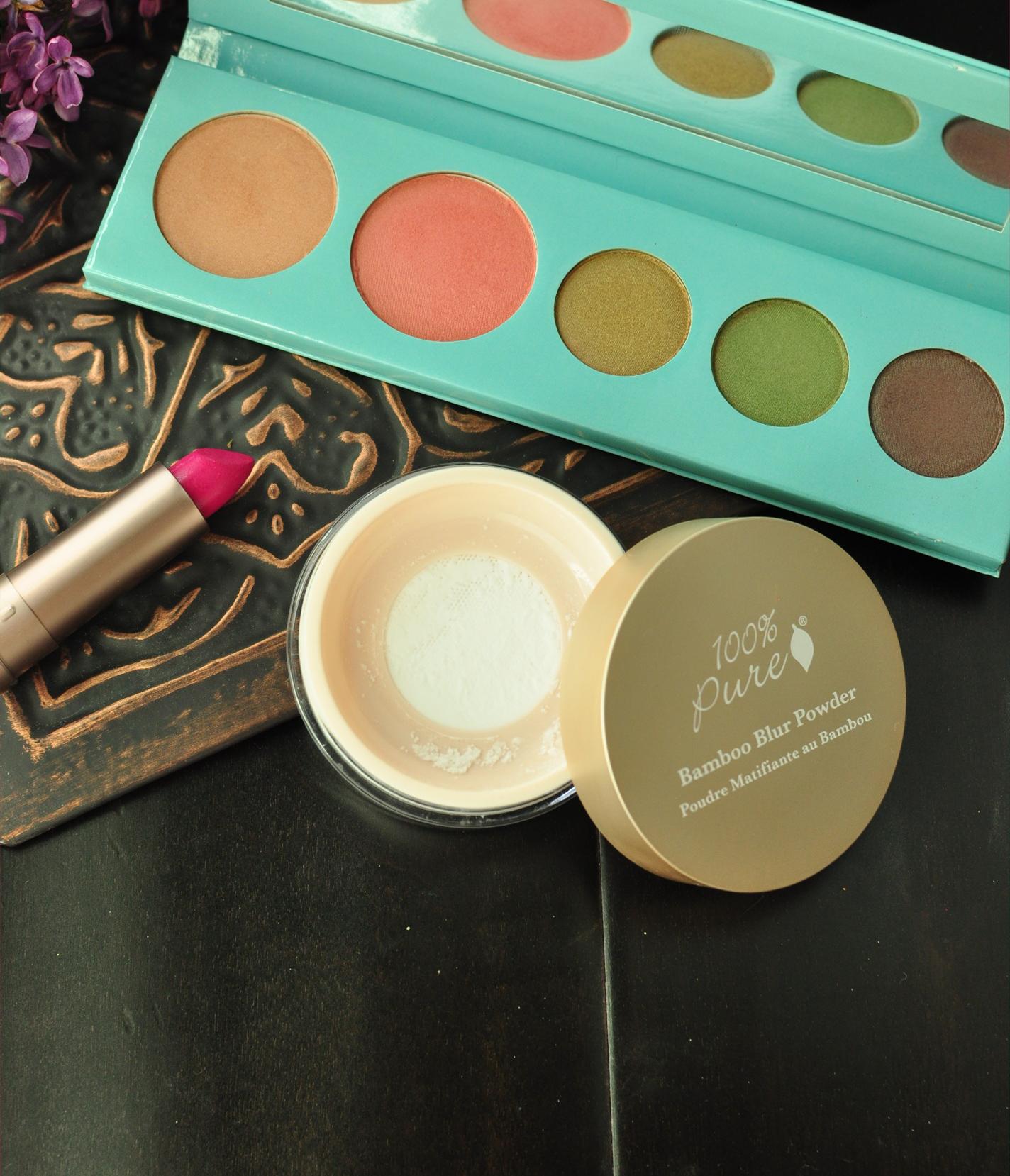 100 Percent Pure Makeup Review and Tutorial 100 percent