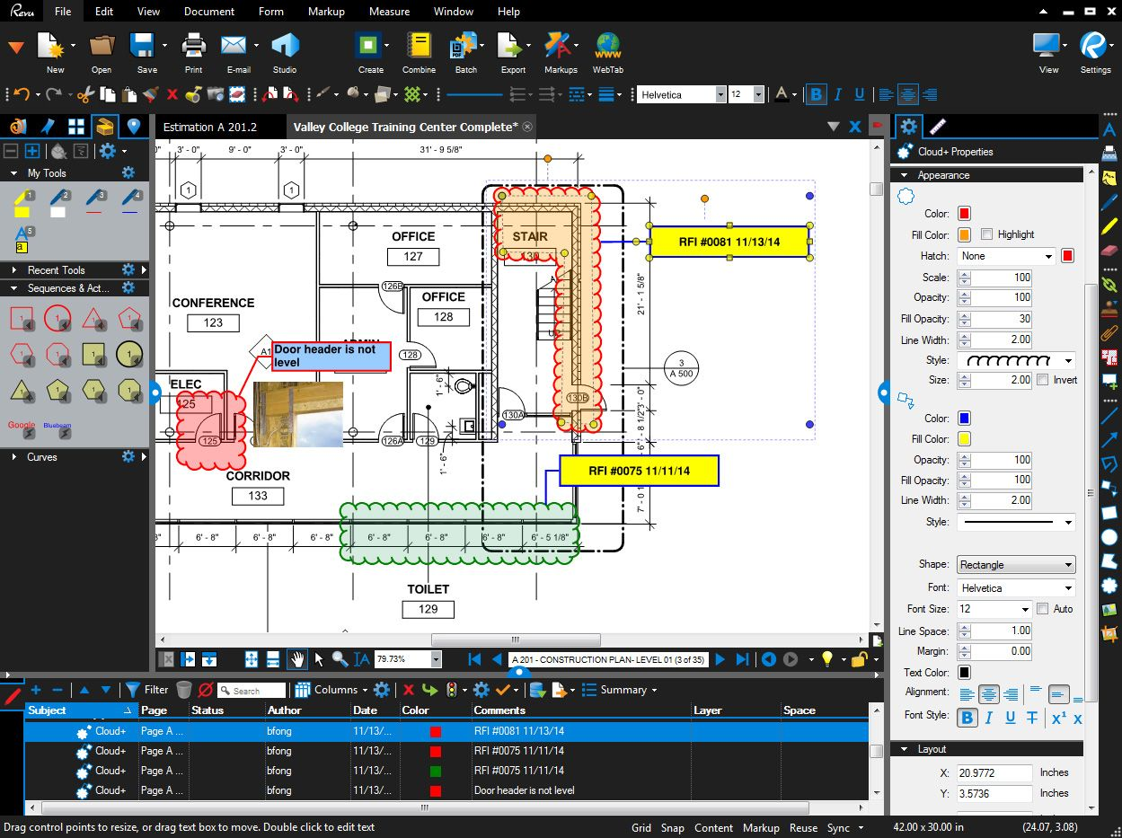 Bluebeam solutions quantity takeoffs construction management bluebeam solutions quantity takeoffs construction management pinterest software malvernweather Choice Image