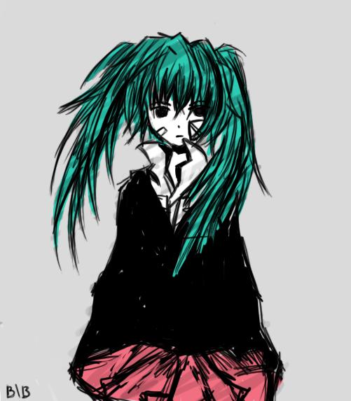 Hatsune Miku Rolling Girl Hatsune Miku Miku Rolling Girl