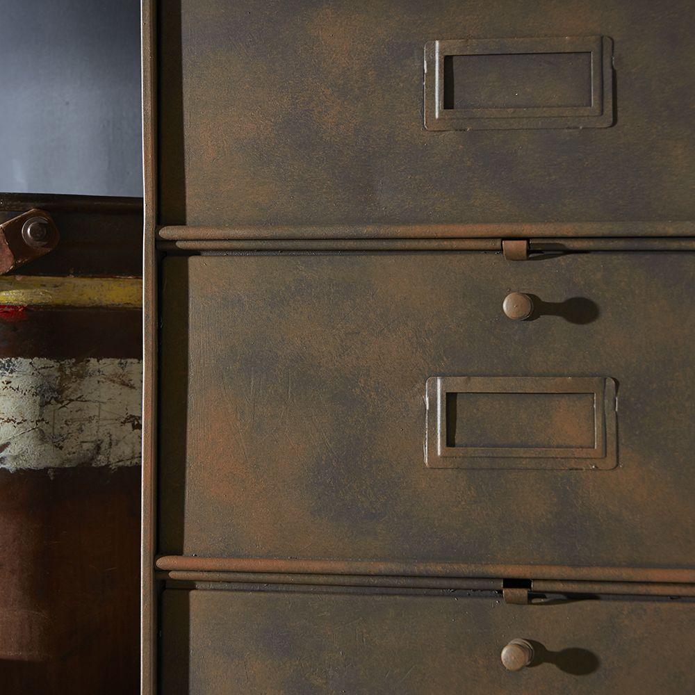 Peinture Oxyde Effet Rouille Sur Meubles Kit De 600ml Id Paris En 2020 Peinture Renovation Meuble Mobilier De Salon Peinture Effet Rouille