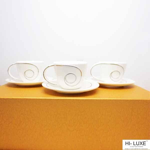 4c0d066c8073 Hi Luxe Cup   Saucer 12 Pcs Set
