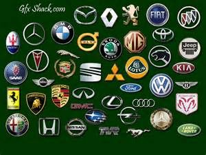 World Famous Cars Car Logos With Names Car Logos Car Make Logos