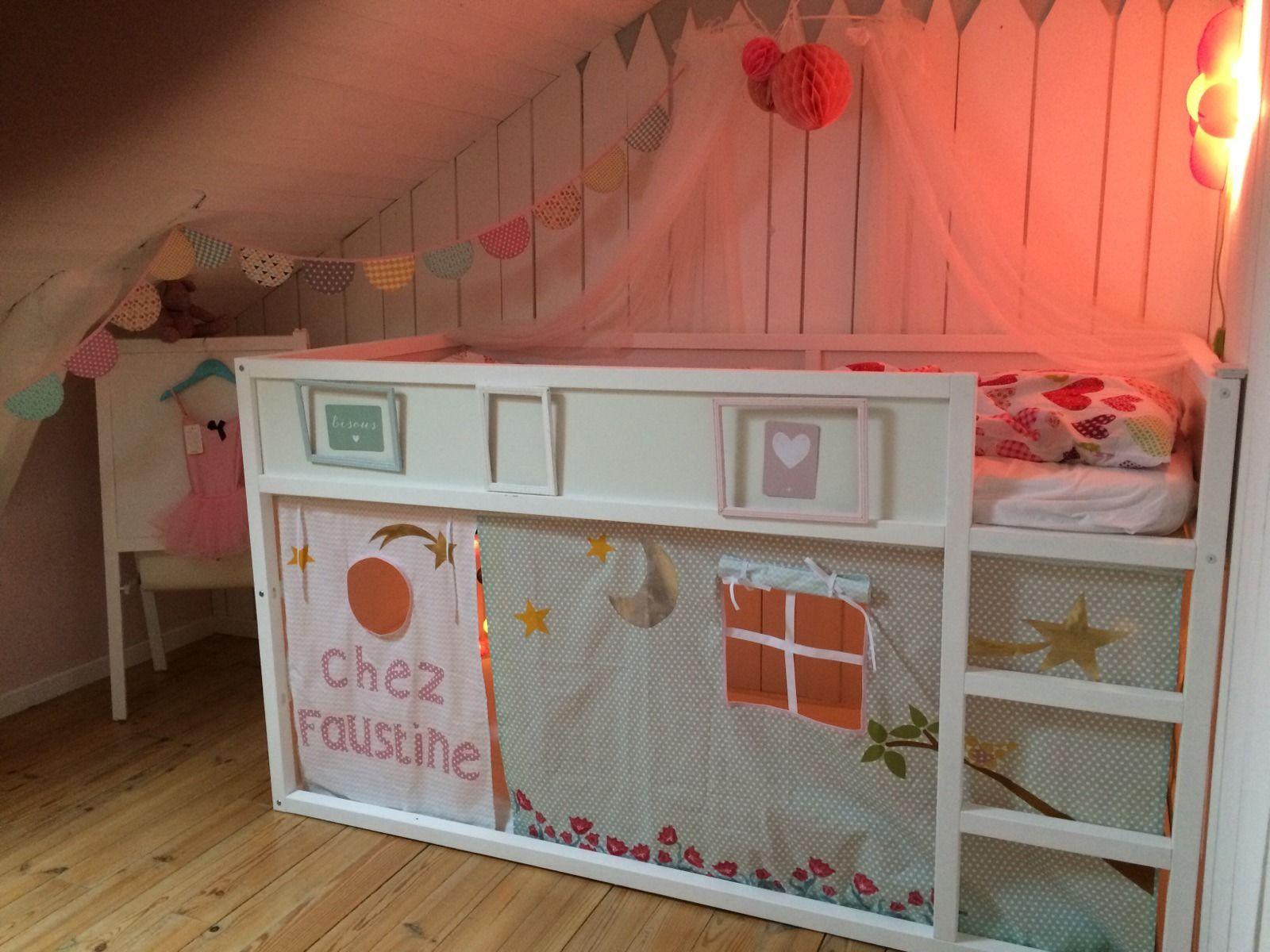 une cabane sous le lit mezzanine
