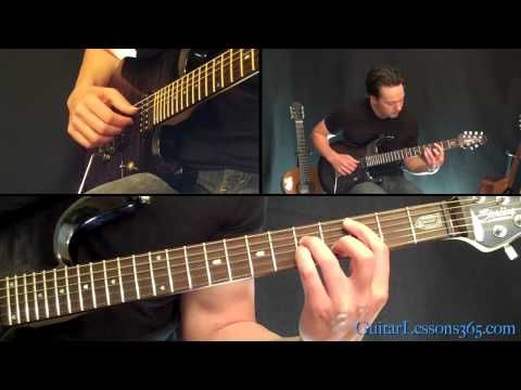 Money For Nothing Guitar Lesson - Dire Straits - Famous Riffs ...