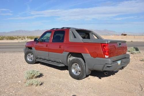 2002 Chevy Avalanche 2500... The basis of my project dream truck..