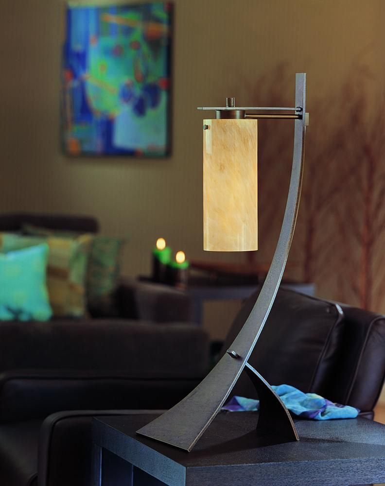 The Stasis Table Lamp From Hubbardton Forge Was The Winner