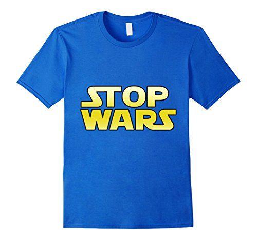 Men s GummoCloth   Stop Wars Peace Day T-Shirt 3XL Royal ... https ... b90f97644