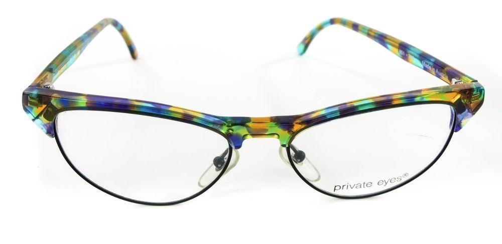 Private eyes 801-762 multi colored eyeglass frames glasses austria ...