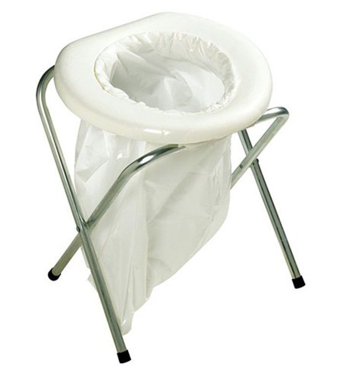 Portable Toilet Seat Camp Tents Boats Folding Chair Compact Potty ...