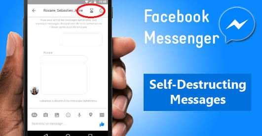 How To Create/Send Self-Destruct Chats and Encrypted Facebook