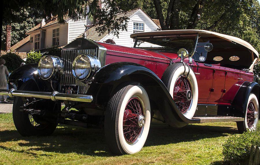 vintage rolls royce phantom | Vintage Rolls Royce Phantom Photograph - Vintage Rolls Royce Phantom ...