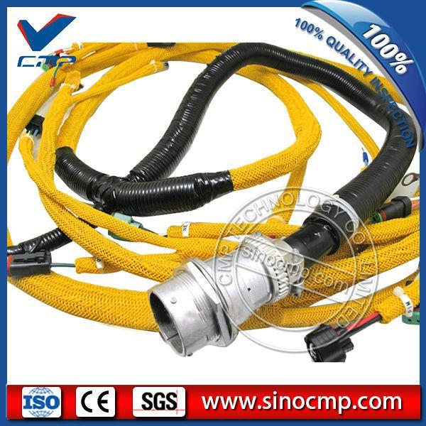 Pc400 7 Engine Sensor Wiring Harness 6156 81 9320 For Komatsu Excavator Komatsu Excavator Komatsu Excavator