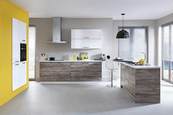 jaune en d co nouvelle tendance blog schmidt cuisine ouverte ilot baignoire. Black Bedroom Furniture Sets. Home Design Ideas