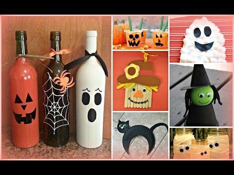 Easy  Simple 2016 Halloween Craft Ideas - YouTube Halloween - how to make halloween decorations youtube