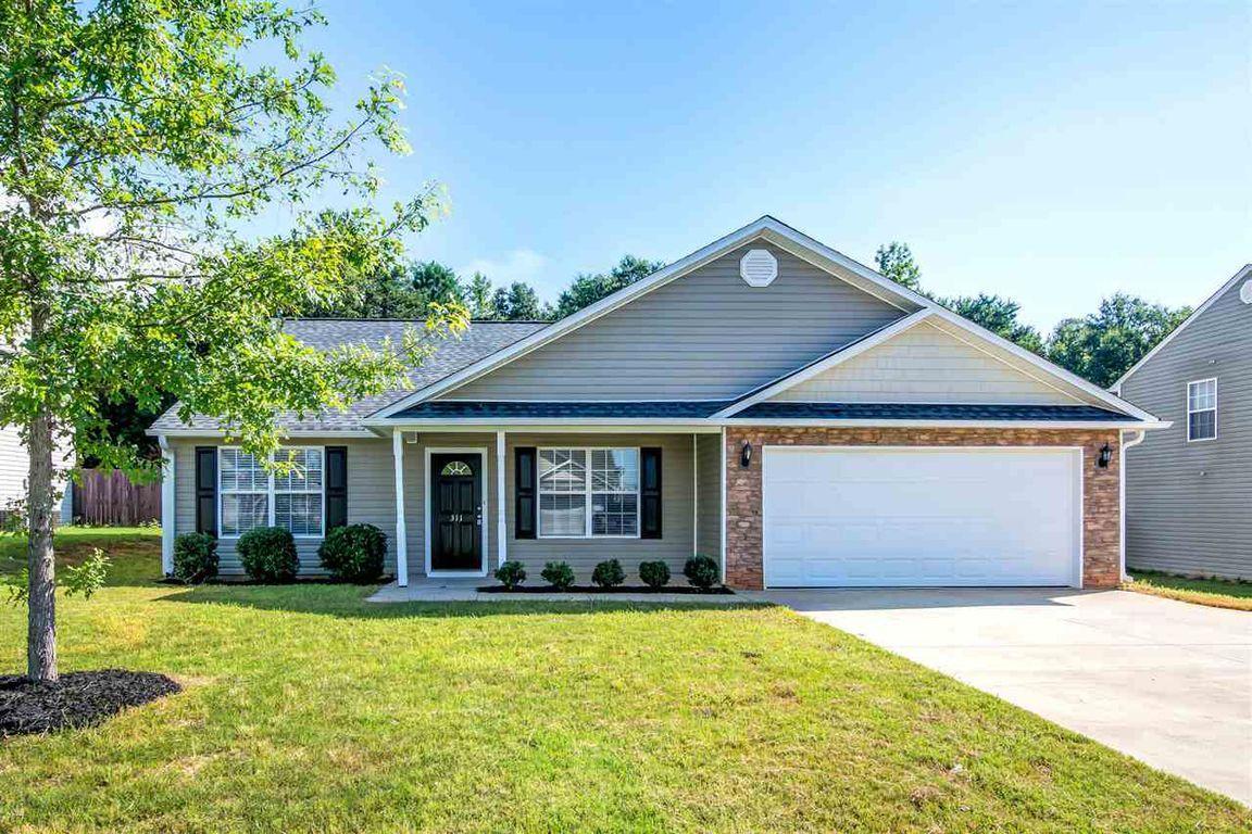Home for Sale 311 Carnahan Drive Spartanburg, SC 29306