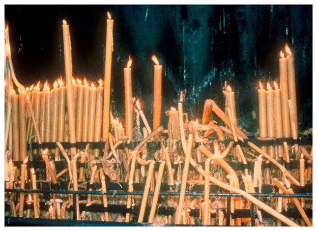 Nan Goldin   Fatima candles (Portugal 1998) - Matthew Marks Gallery