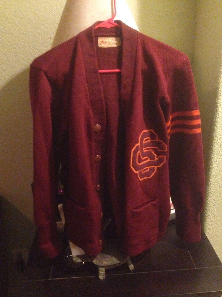 usc letterman sweater from $600.0 | NFL | Pinterest | Letterman ...