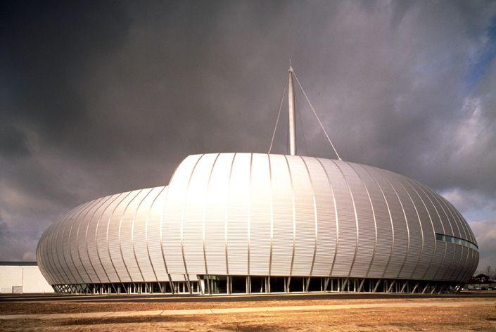 Rouen Concert Hall. Bernard Tschumi