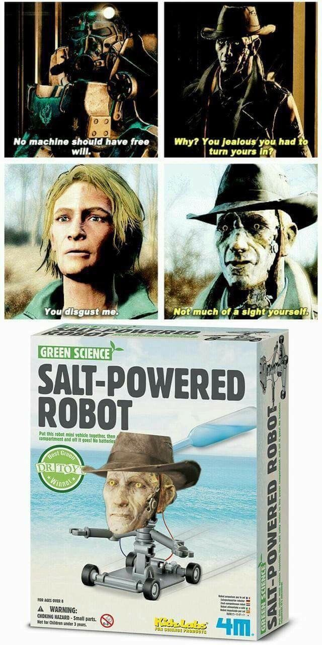 Saltiest robot ever humor me pinterest