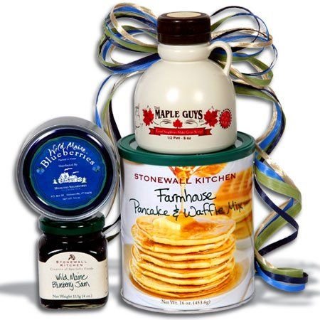New England Breakfast Gift Stack - http://mygourmetgifts.com/new ...
