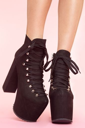 UNIF Hellbound Platform | The Fashion UFO | Shoes, Gothic