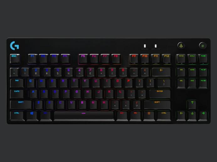 Logitech G Pro X Mechanical Gaming Keyboard With Swappable Switches Keyboard Logitech Macro Keys
