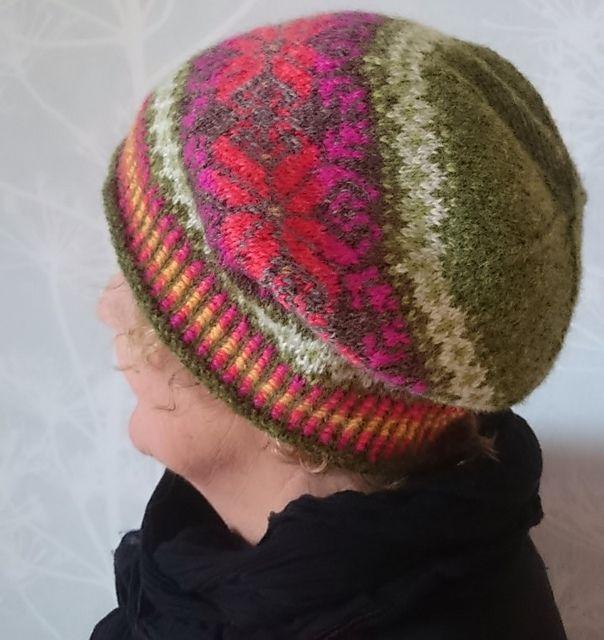 Ravelry: Häxans Favourite Flowers Hat pattern by Anita Viksten ...