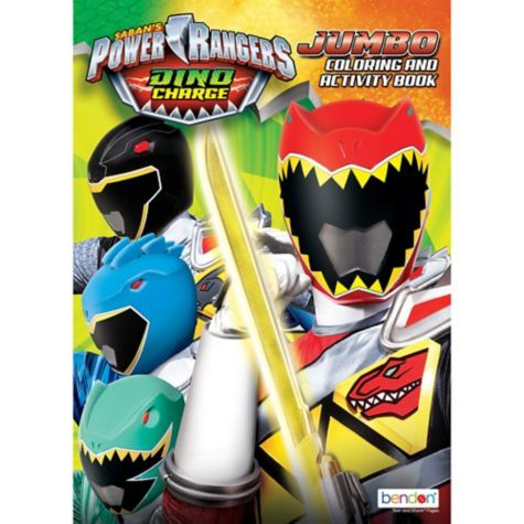 Power Rangers Coloring Activity Book