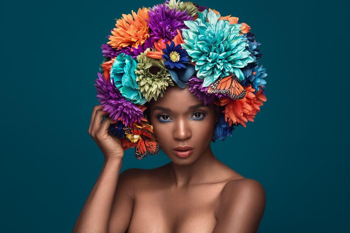 Flower Crown On Behance Theme Flora Pinterest Beauty Flowers