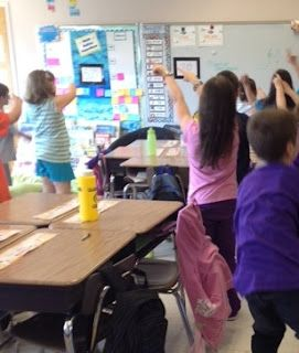 Dance moves to teach subtraction with regrouping - LOVE this idea!!!